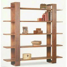 outside patio furniture Bookcase Shelves, Wall Shelves, Shelving, Modern Bookshelf, Bookcases, Wood Furniture, Modern Furniture, Furniture Design, Woodworking Plans