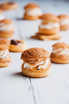 Hint of Vanilla: S'more Cream Puffs