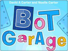 Bot Garage | Randomhouse Kids Apps Robots For Kids, Art For Kids, Summer Reading Program, Books For Teens, Summer Kids, Story Time, Literature, Garage, Apps