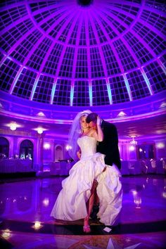 What a beautiful picture of this gorgeous couple. The Dome Room at Jericho Terrace features an impressive Italian marble dance floor accented with a modern glass dome, creating unforgettable memories.