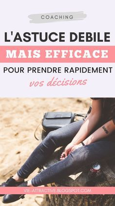 L'astuce débile, mais efficace, pour prendre rapidement vos décisions | développement personnel Decision, Miracle Morning, Job Posting, Good Habits, Positive Attitude, Self Confidence, Wellness Tips, Motivation, Self Improvement