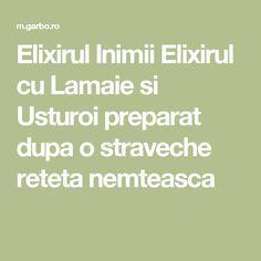 Elixirul Inimii Elixirul cu Lamaie si Usturoi preparat dupa o straveche reteta nemteasca