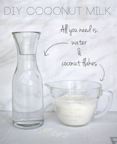 DIY Coconut Milk | All Sorts of Pretty