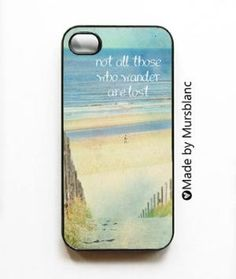 Not all those who wander are lost  iPhone 4s case by HipsterCases