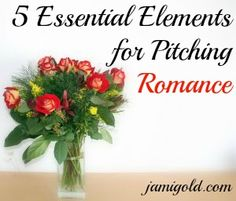 Pitches for romance stories are different from normal pitches. Discover the five essential elements needed in a romance novel pitch!
