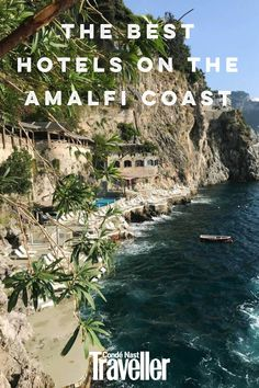 For an authentic taste of la dolce vita on Italy's lemon-scented shore, these are the best hotels on the Amalfi Coast. Beautiful Places To Travel, Wonderful Places, Hotel Amalfi, Italy Pictures, Beste Hotels, Travel Tours, Amalfi Coast, Nice View, Places To Go