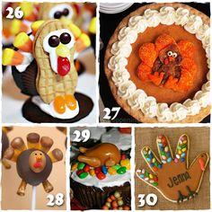 30 Creative Thanksgiving Treats Made Easy