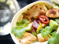 Wraps med chilifräst kyckling | Recept från Köket.se