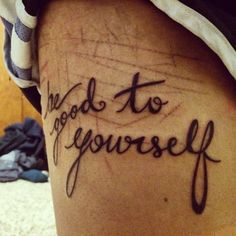 """shyowl: """"mullingarkisses: """"""""Be good to yourself."""" Over the past three years I have battled with severe anxiety, depression, low self-esteem & self-confidence, and self-harm. This past semester (and this January included) has been one of the most..."""
