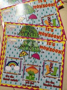 Monsoon Tambola Tickets (Umbrella Month)