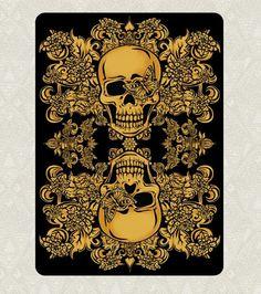 Playing cards Arcanum kickstarter