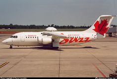Air Canada Jazz | GRNV Air Canada Jazz British Aerospace 146-200 taken Jul 2002