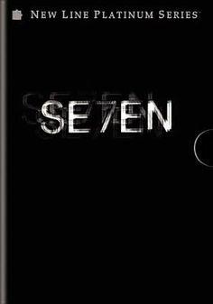 Brad Pitt crime Feature film Gwyneth Paltrow horror Kevin Spacey Morgan Freeman movie mystery religion serial killer seven deadly sins thriller Videorecording