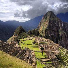 Machu Picchu in Peru!