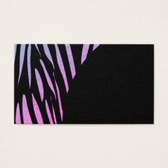 Tiger Stripes Print Wild Safari Business Cards - diy cyo customize create your own #personalize