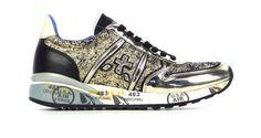 Coole Premiata Diane3 Goud Sneakers van het merk Premiata voor Dames . Uitgevoerd in Goud gemaakt van .