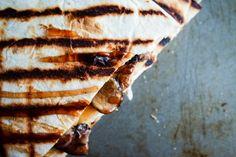 BBQ Mushroom Quesadillas #MeatlessMonday