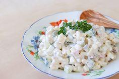 Kinkku-pastasalaatti - Ruoka & Koti Feta, Grains, Rice, Cheese, Seeds, Laughter, Jim Rice, Korn