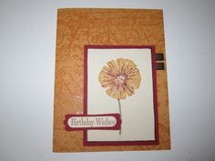 Birthday Wishes by Pepsishan - Cards and Paper Crafts at Splitcoaststampers