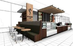 IMAGE #1 Extensive construction ready design isn't all we do. This high profile brand wanted to compare some ideas so we put together a vast collection of concepts & ideas for their management team to ponder. These samples didn't get selected. You'll have to wait & see which ones did. #Relax #CaffeineHit #WakeUp #CoffeeShops #Kiosks #InteriorDesigners #Architect #Franchises #PickOne #CoffeeMachines #PerkUp #MorningPickMeUp