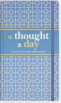 A Thought A Day: Five Year Journal (Diary, Notebook): Amazon.co.uk: Peter Pauper Press: 0706151256104: Books