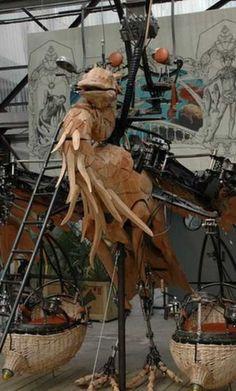 theme park of mechanical terror in Nantes, amaze!