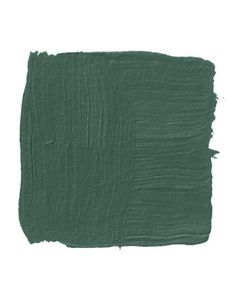 """Benjamin More Lafayette Green: """"A rich, deep green-painted floor will always be reminiscent of good traditional architecture — everything from Georgian shutters to the green floorcloth in the entrance hall of Monticello. It's a no-brainer for a porch floor, because it has a natural connection to the outside. And this dark forest green sits down. It doesn't jump out at you."""" - Sam Blount"""