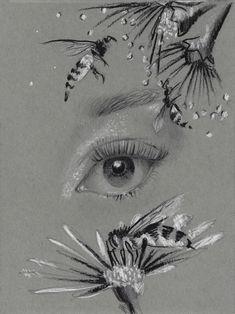 Rumi Bees Giclée Art Print