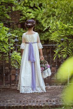 3d7d4b0a3 27 mejores imágenes de vestidos blancos nena comunión o cortejo ...