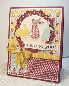 by Vicki Burdick, It's a Stamp Thing: Sweet Sunday....Ears to You!