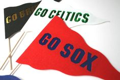 Sports. Photo booth Props. Team Pennants. Team by MaroDesigns, $8.95