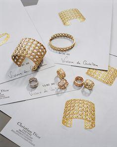 De son inspiration à sa validation, les différentes étapes qui composent le parcours de création pour la dernière collection imaginée par Victoire de Castellane – My Dior