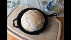 "How to Bake No-Knead ""Turbo"" Bread in a Skillet (ready to bake in 2-1/2 hours) - YouTube"