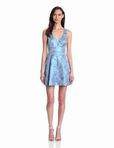Amazon.com: Blue Juice Women's Snazzy Brocade Dress: Clothing