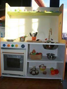 Habichuelas Mágicas: Cómo hacer una cocinita de madera