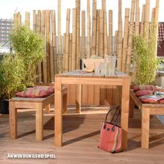 Trend Bambus Sichtschutz