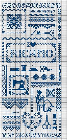 Ricamo cross-stitch - free