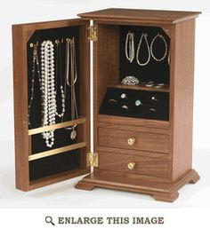 Jewelry Box Woodworking Plan, Gift Project Plan   WOOD Store