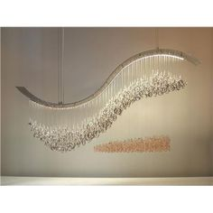 crashing wave chandelier