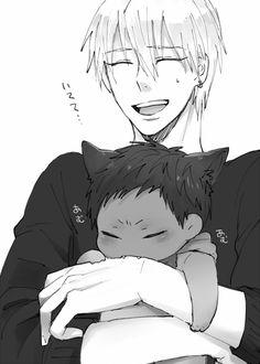 kise and kitty aomine