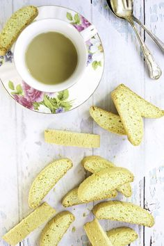 Anise biscotti is the perfect cookie to dunk into your morning or afternoon coffee.