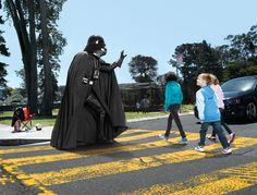 He is a nice guy, after all. #StarWars #DarthVader #Vader
