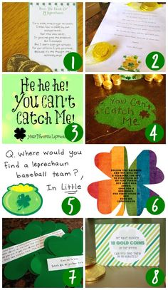 Leprechaun Notes and Letters
