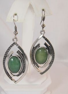 FG352 - Natural Stone Earrings - Aventurine