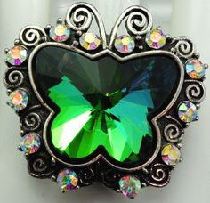 Colorful Aurora Borealis Butterfly Cocktail by victoriascharms