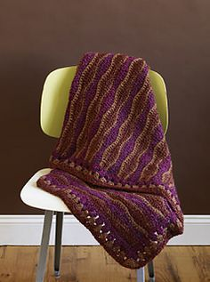 Ravelry: New Wave Throw pattern by Lion Brand Yarn