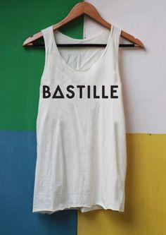 Bastille Shirts Bastille Band Shirts Tank Top by LibraryOfShirt, $14.99