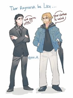 Thor: Ragnarok || Loki and Thor