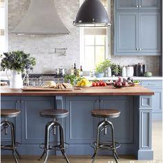 Colored cabinets