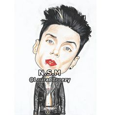 Andy Biersack #AltPress The Shadow Side, Andy Black, Andy Biersack, Black Veil Brides, Cartoons, Cartoon, Cartoon Movies, Comics And Cartoons, Comic Books